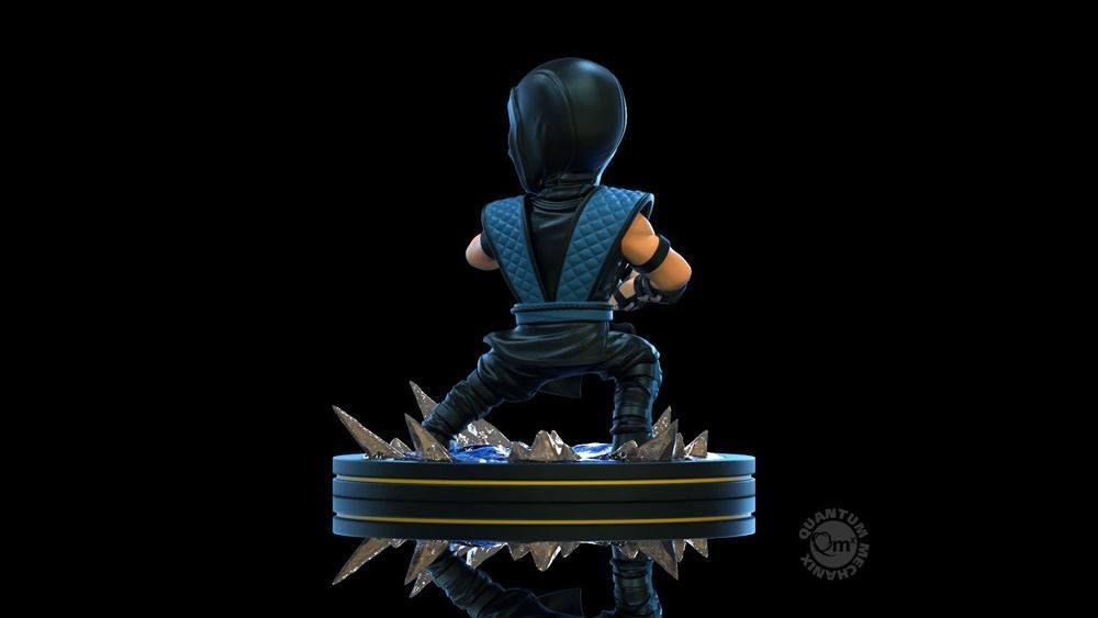 Mortal kombat diorama q fig sub zero 10 cm 3