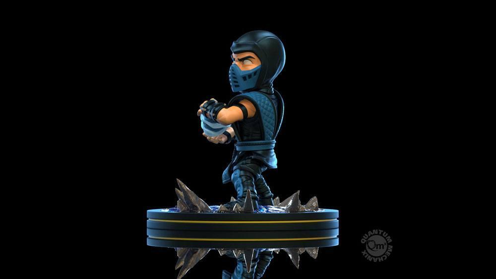 Mortal kombat diorama q fig sub zero 10 cm 4