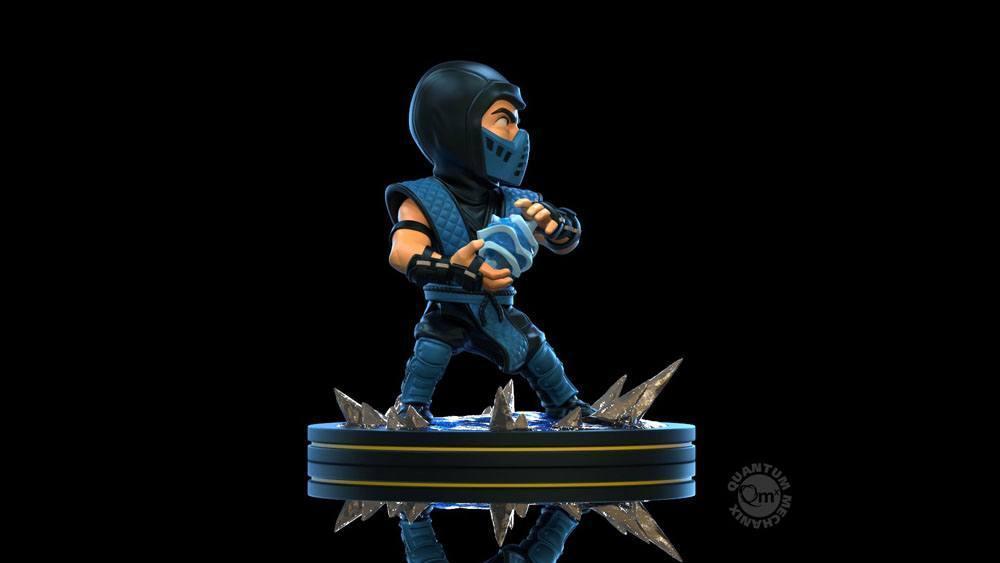 Mortal kombat diorama q fig sub zero 10 cm 5