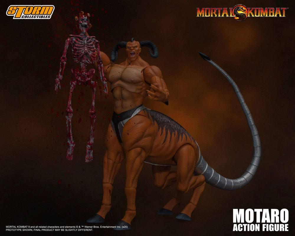 Mortal kombat figurine 112 motaro 24 cm storm collectible figure action 10