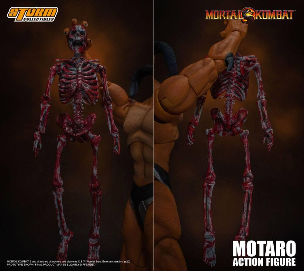 Mortal kombat figurine 112 motaro 24 cm storm collectible figure action 13