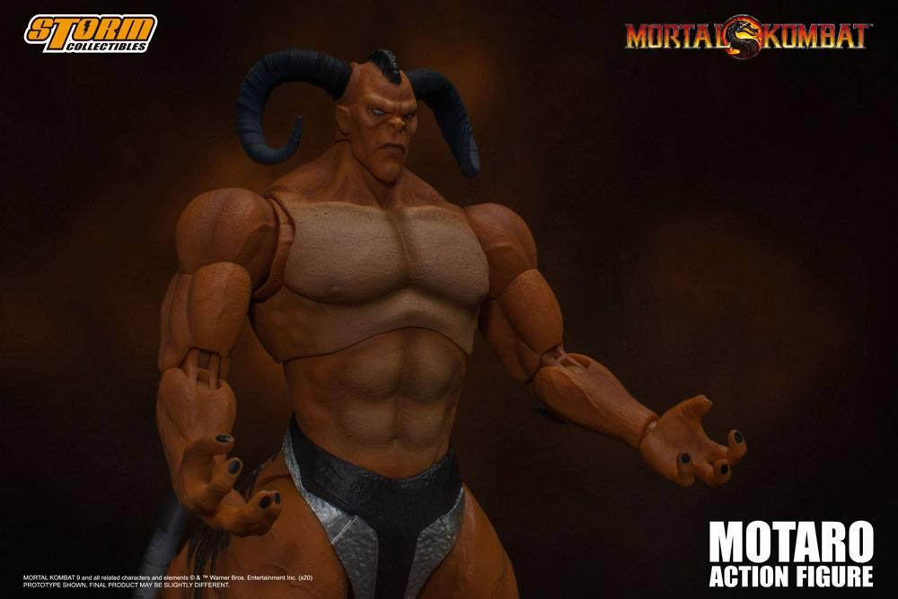 Mortal kombat figurine 112 motaro 24 cm storm collectible figure action 3