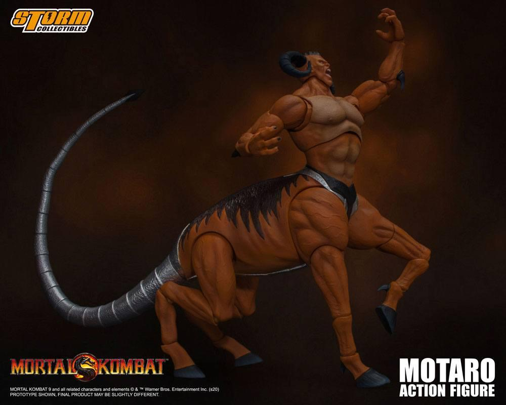Mortal kombat figurine 112 motaro 24 cm storm collectible figure action 4