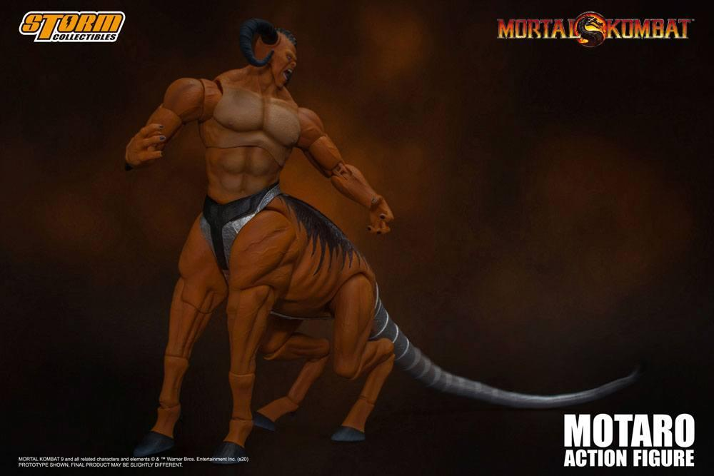 Mortal kombat figurine 112 motaro 24 cm storm collectible figure action 5