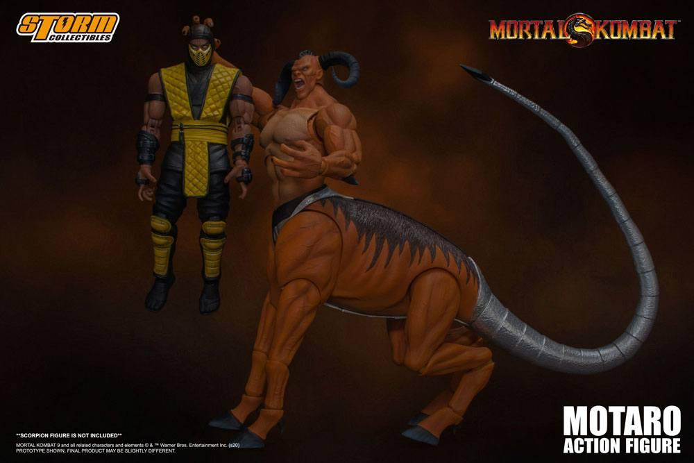 Mortal kombat figurine 112 motaro 24 cm storm collectible figure action 9