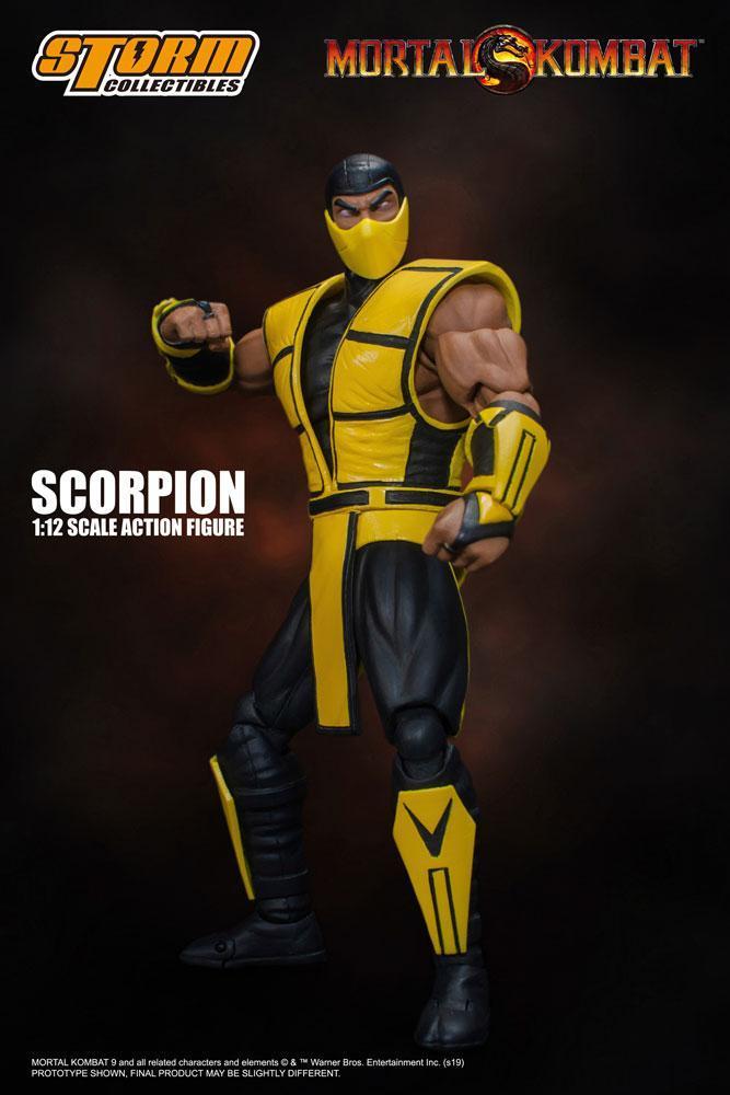 Mortal kombat figurine 112 scorpion 16 cm 1