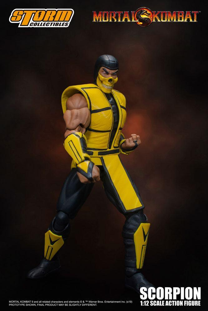 Mortal kombat figurine 112 scorpion 16 cm 2