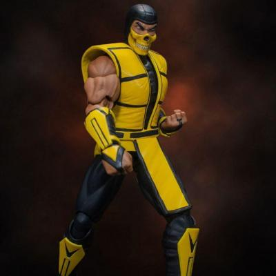 Mortal Kombat figurine 1/12 Scorpion 16 cm Storm collectibles