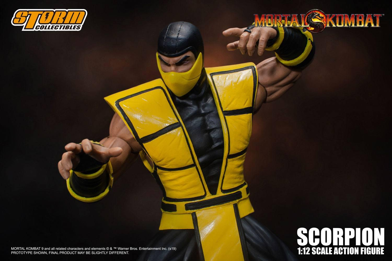 Mortal kombat figurine 112 scorpion 16 cm 3