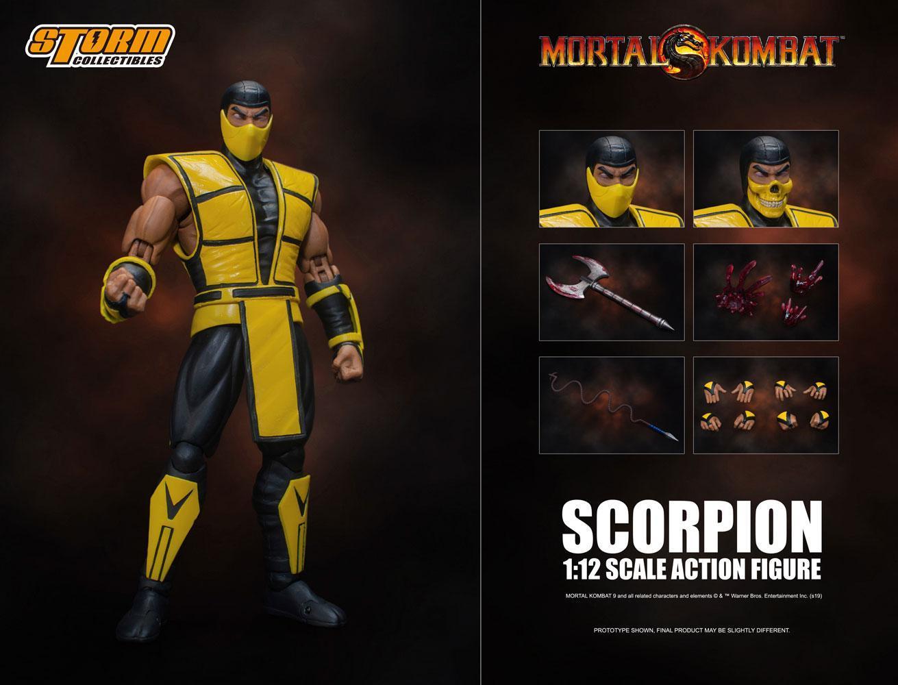 Mortal kombat figurine 112 scorpion 16 cm 4