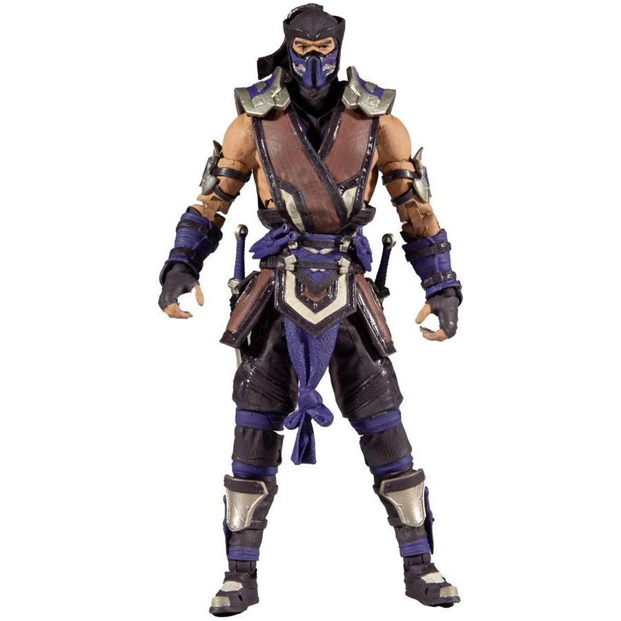 Mortal kombat figurine sub zero winter purple variant 18 cm 1