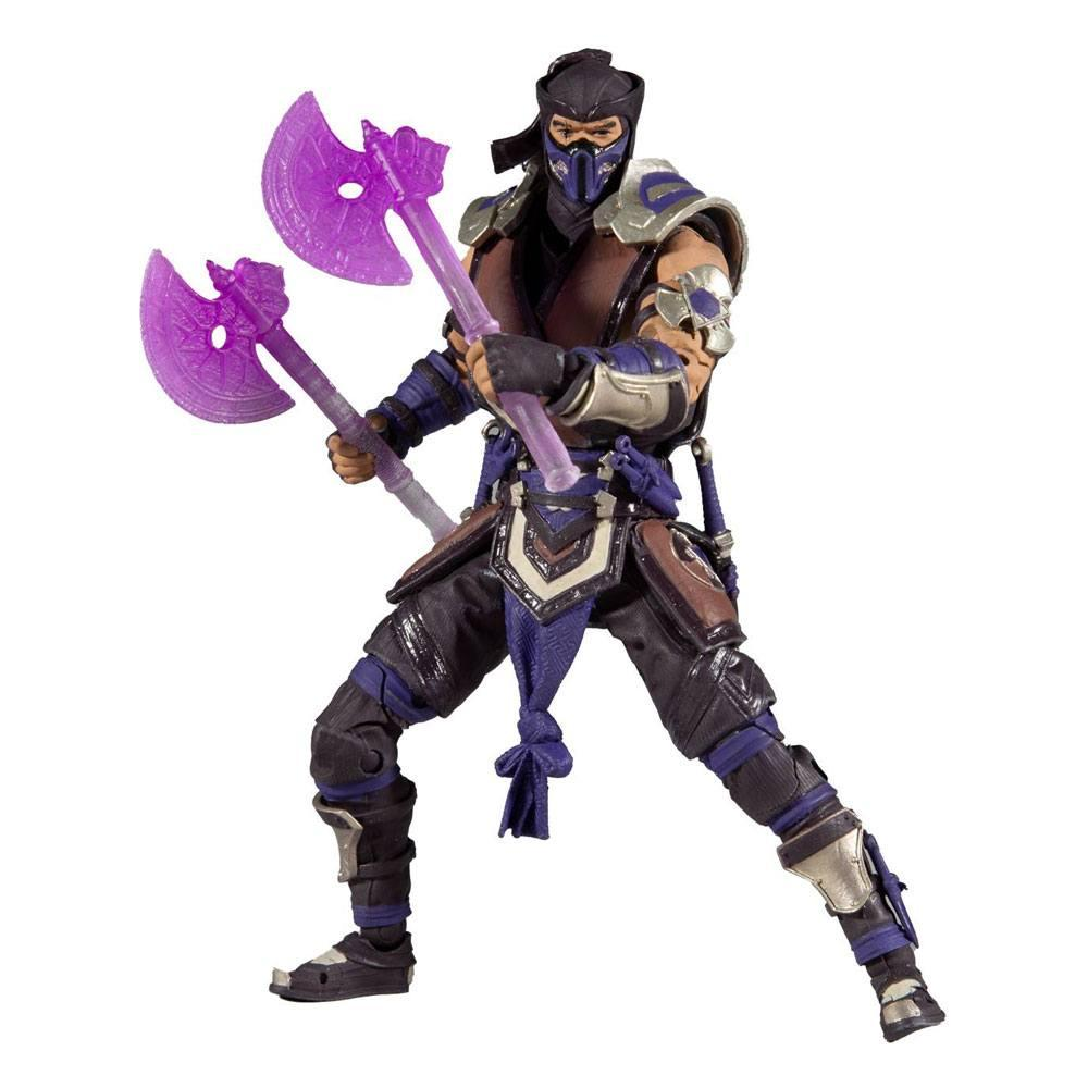 Mortal kombat figurine sub zero winter purple variant 18 cm 3