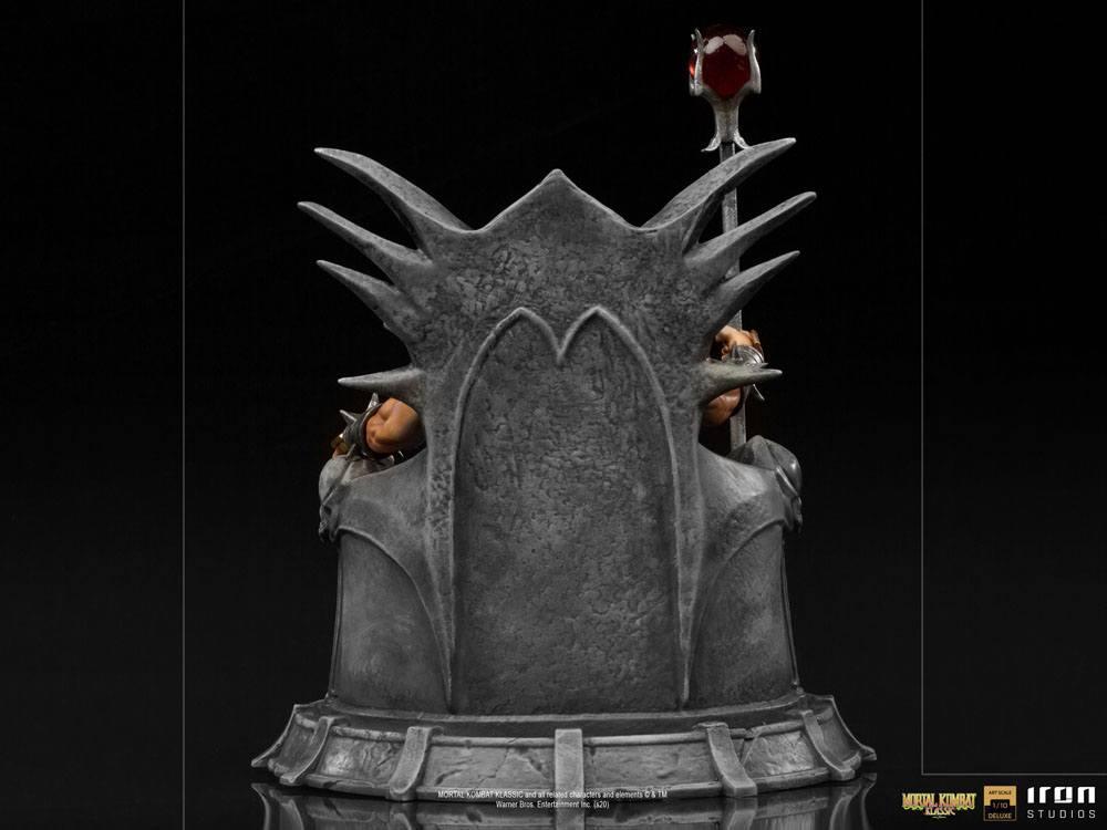 Mortal kombat statuette 110 bds deluxe art scale shao khan 25 cm 4