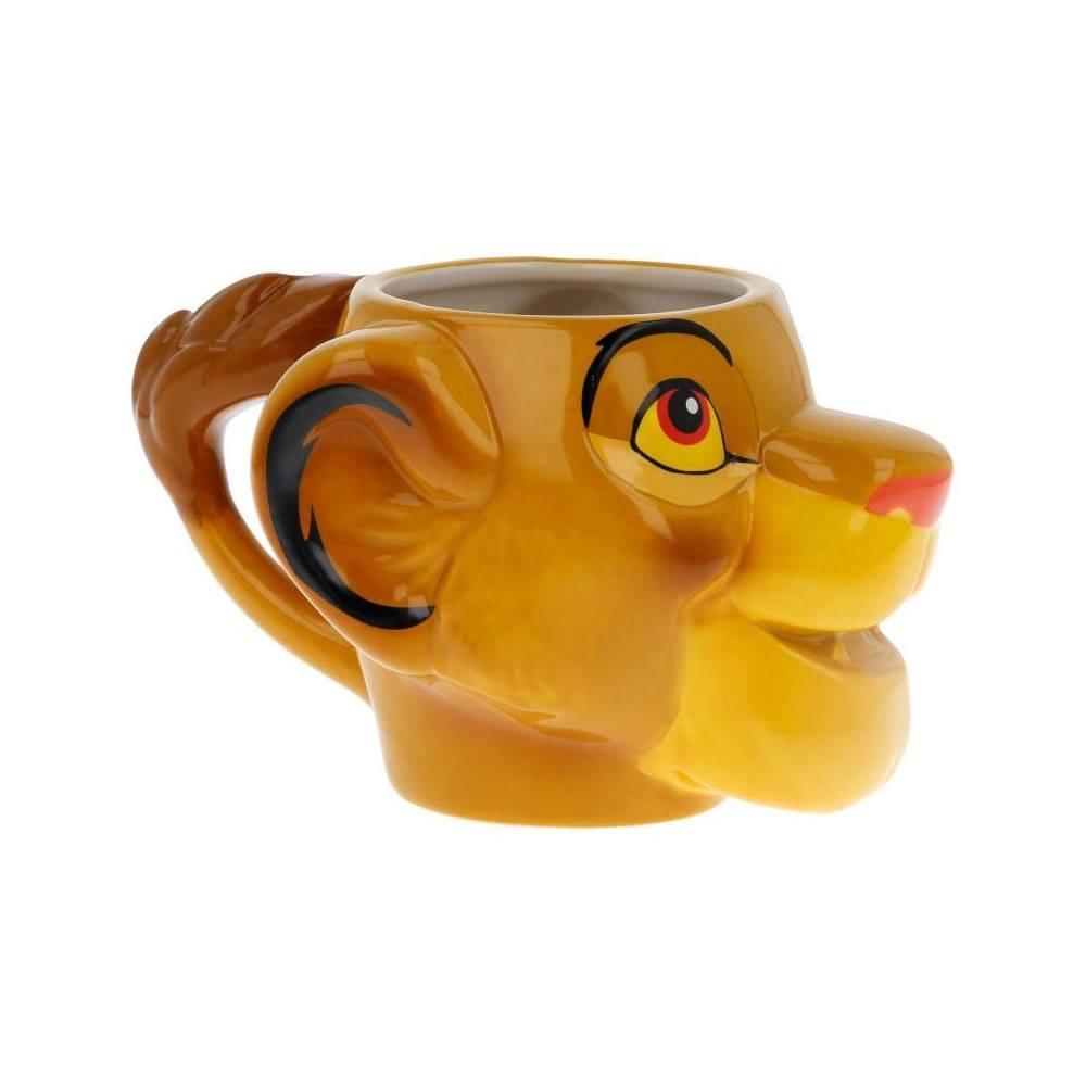 Mug 3d le roi lion disney suukoo toys 3