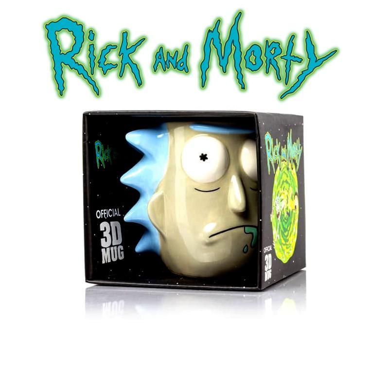 Mug 3d rick et morty rick sanchez