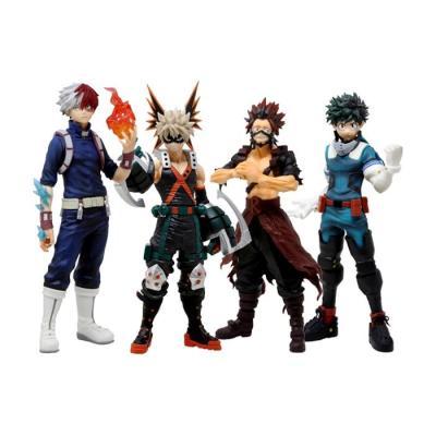 My Hero Academia Pack 4 Figurines Ichibansho Fighting Heroes Feat Ones Justice