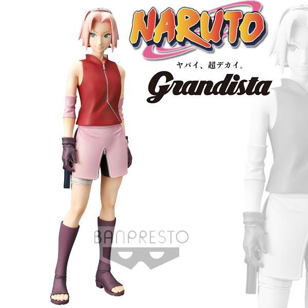 Naruto shippuden grandista shinobi relations haruno sakura 23cm 1