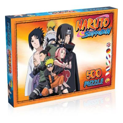 Naruto Shippuden Puzzle Characters