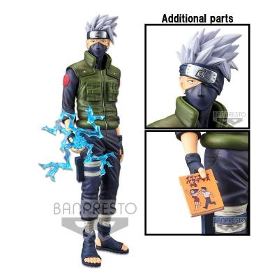 Naruto shippuden statuette pvc grandista nero hatake kakashi 29 cm 1
