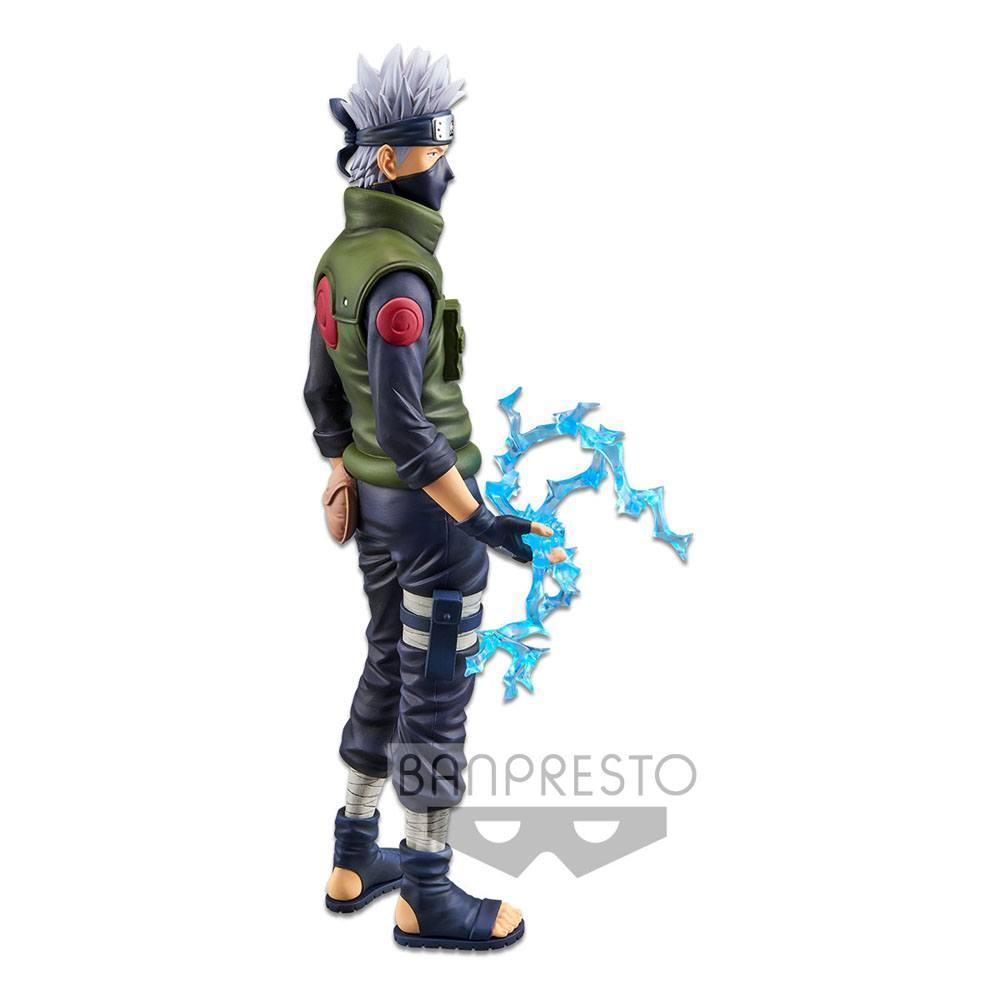 Naruto shippuden statuette pvc grandista nero hatake kakashi 29 cm 4