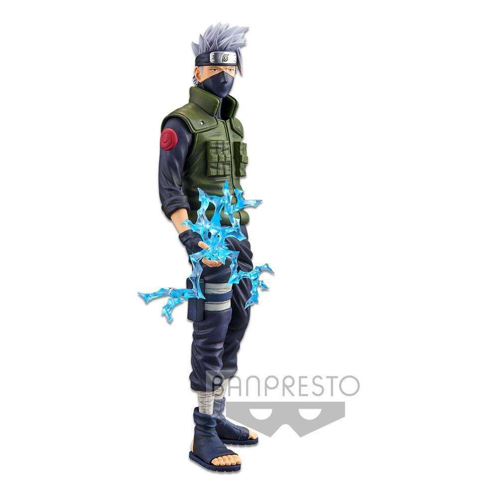 Naruto shippuden statuette pvc grandista nero hatake kakashi 29 cm 5