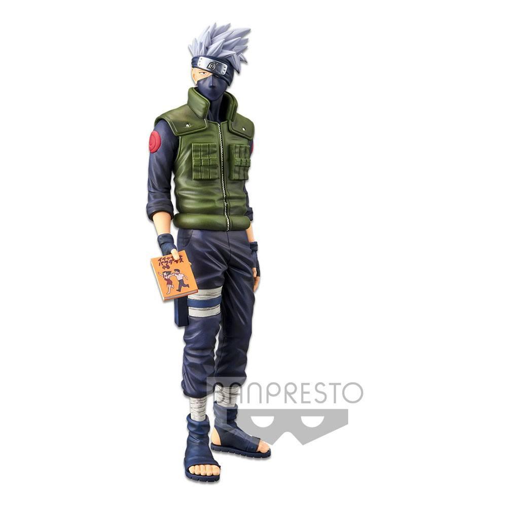 Naruto shippuden statuette pvc grandista nero hatake kakashi 29 cm 6