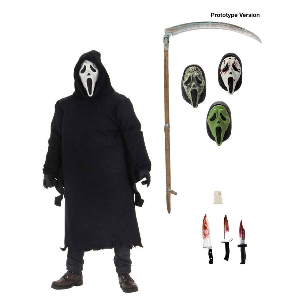 Neca ghostface scream figurine articulee 2