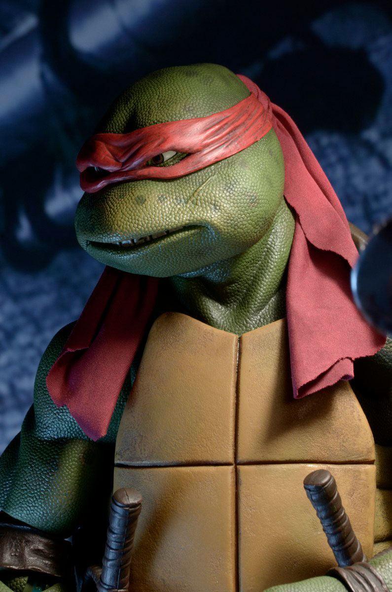 Neca tortue ninja raphael 42cm tmnt teenage turtles mutant ninja 4