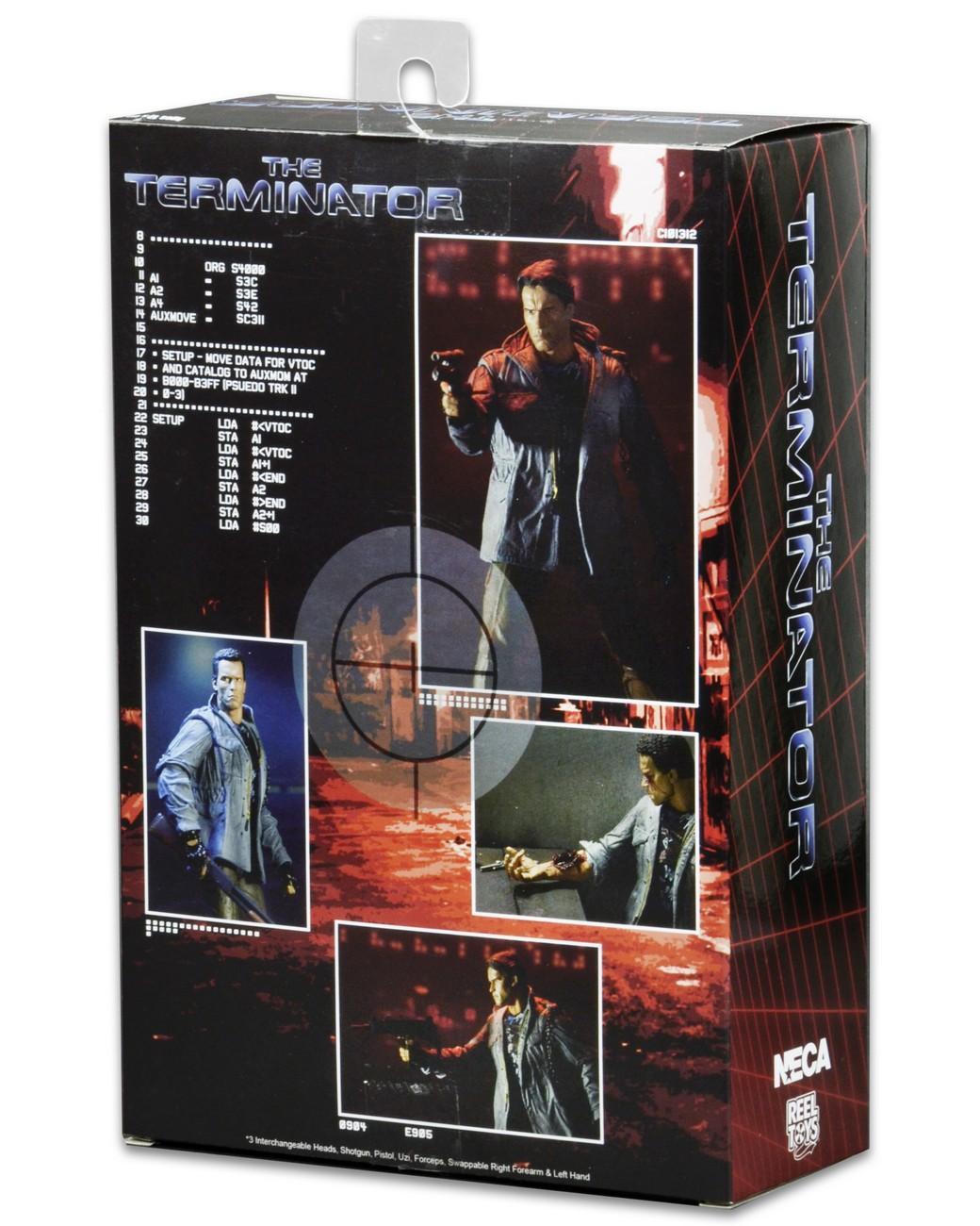 Neca ultimate tech noir terminator 3