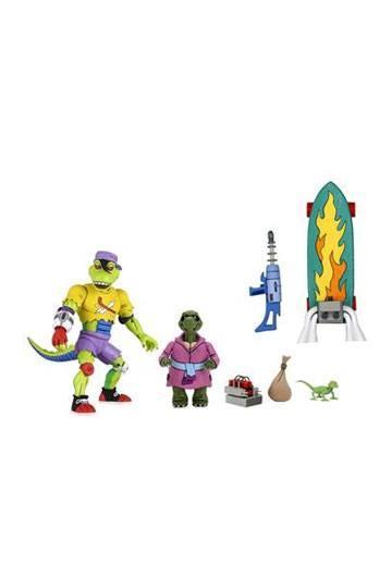 Necales tortues ninja figurine ultimate mondo gecko 18 cm tmnt