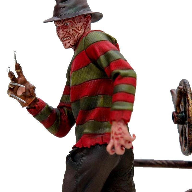 Nightmare on elm street statuette 110 art scale freddy krueger deluxe 19 cm 2