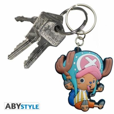 One piece porte cles one piece pvc chopper sd 1