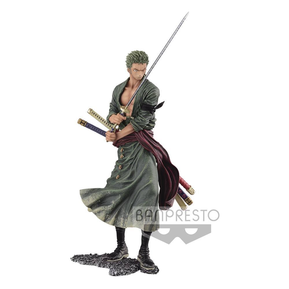 One piece statuette creator x creator roronoa zoro ver a 20 cm figurine suukoo toys