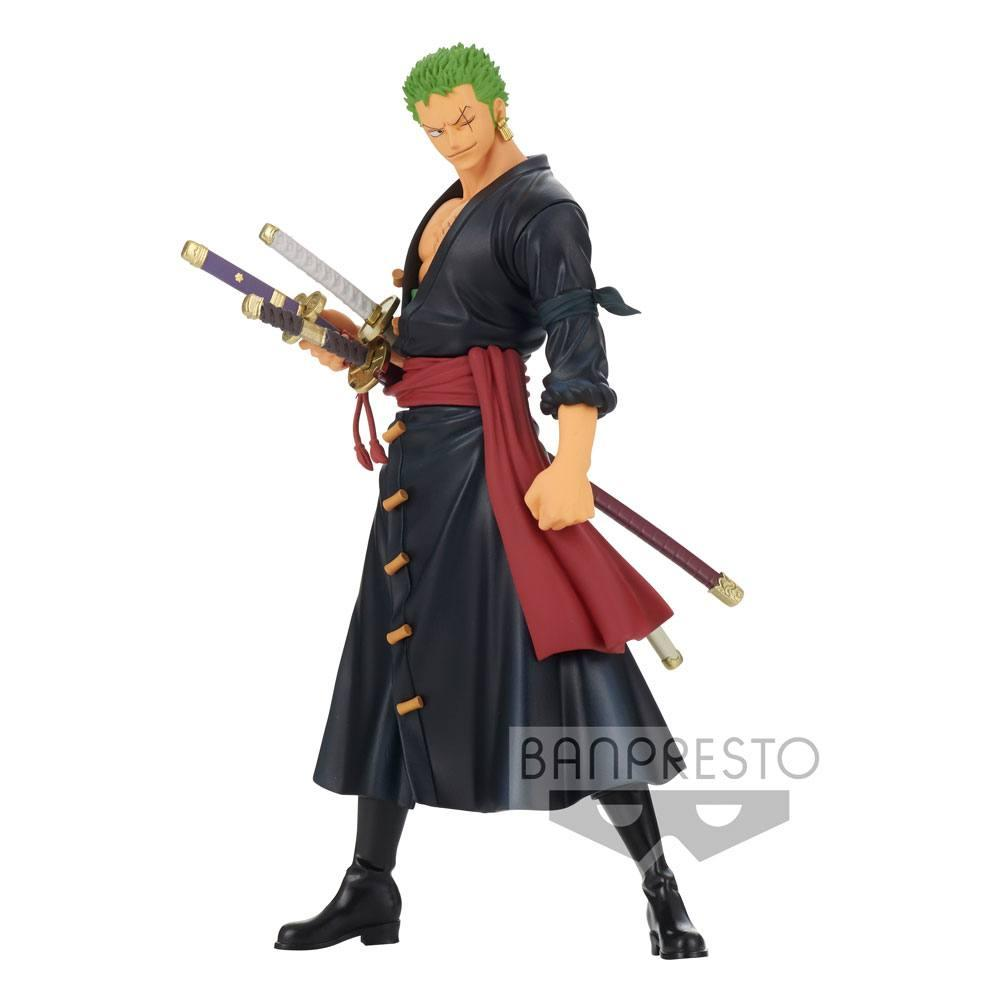 One piece statuette dxf grandline men zoro wano kuni suukoo toys 1