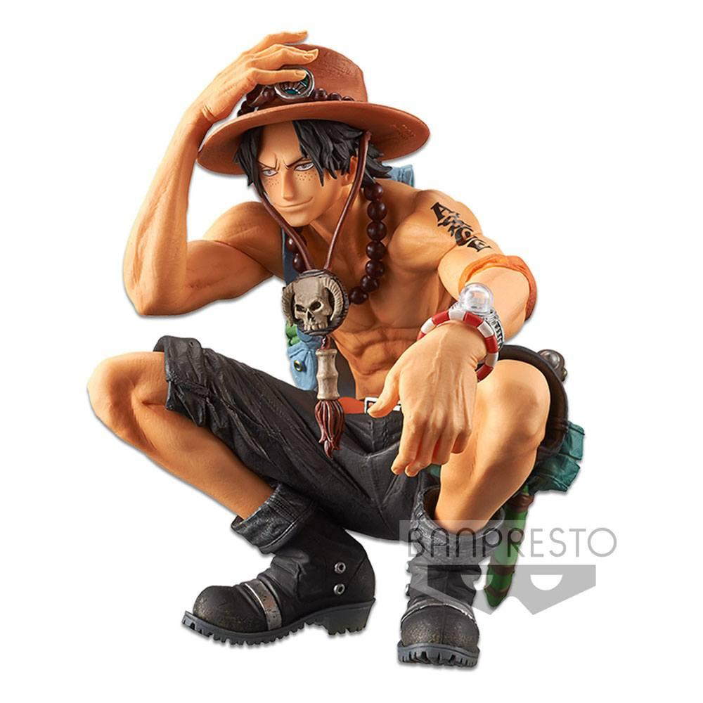 One piece statuette king of artist portgas d ace special ver 13 cm 2