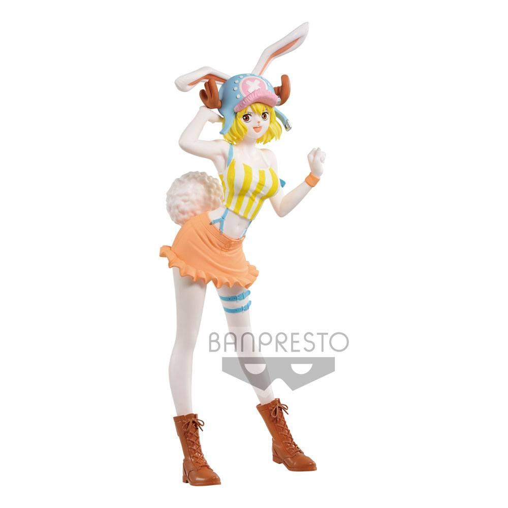 One piece statuette pvc sweet style pirates carrot pastel color version b 23 cm