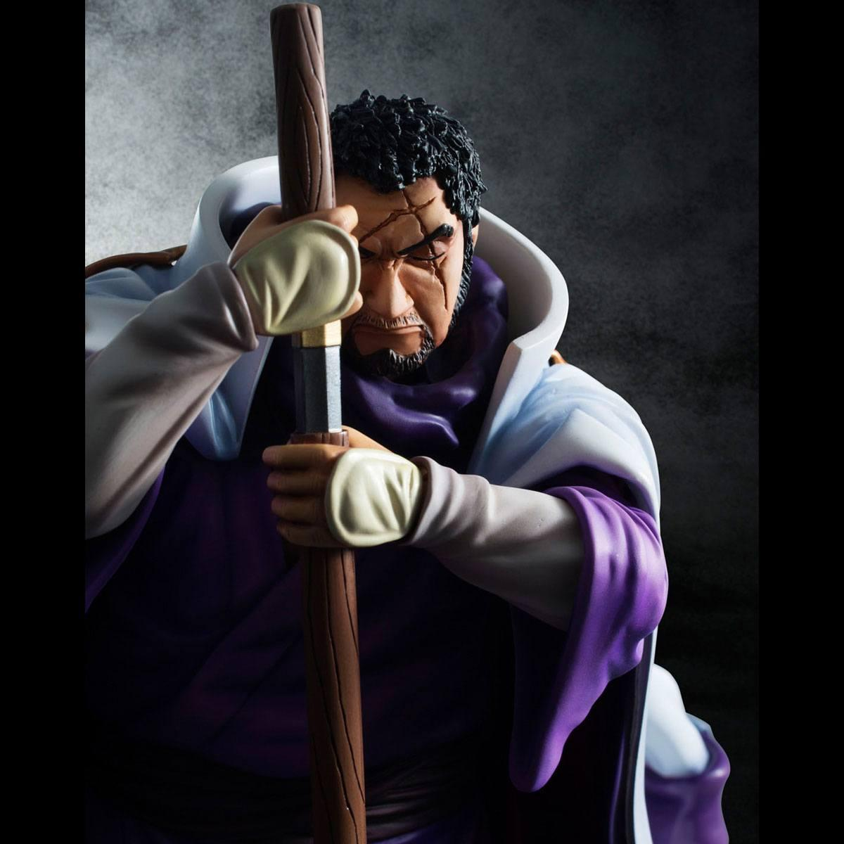 One piece statuette sailing again admiral fujitora 2