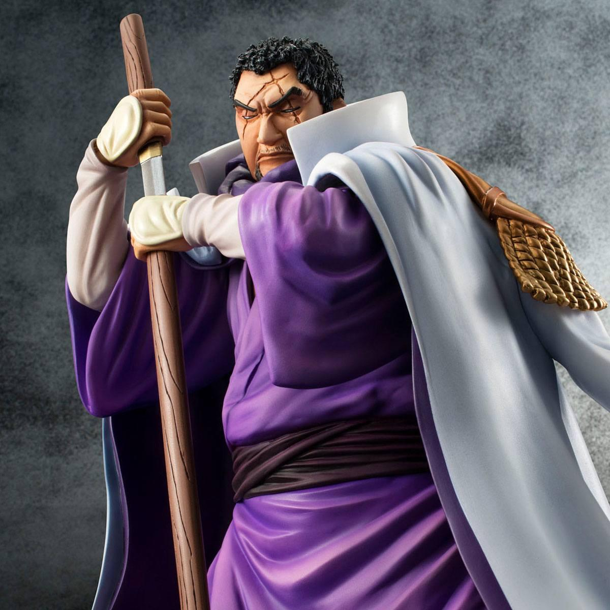 One piece statuette sailing again admiral fujitora 3