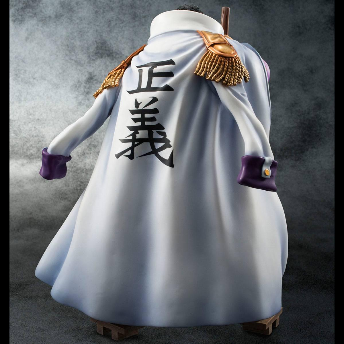 One piece statuette sailing again admiral fujitora 4