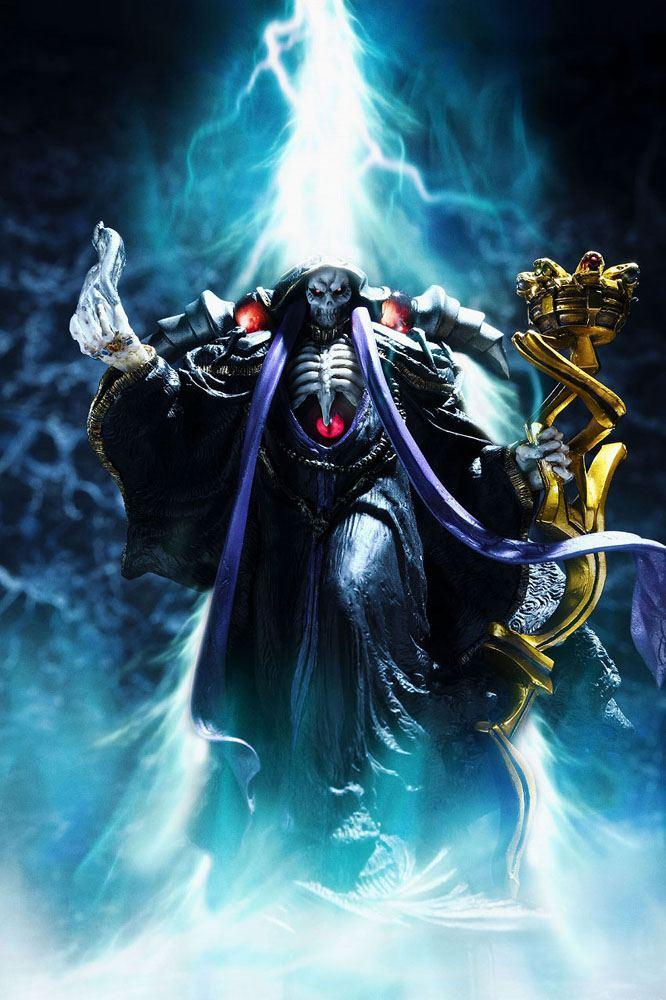 Overlord statuette pvc ainz ooal gown overseas 12 cm 10