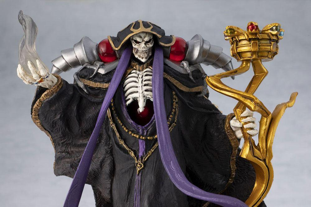 Overlord statuette pvc ainz ooal gown overseas 12 cm 2