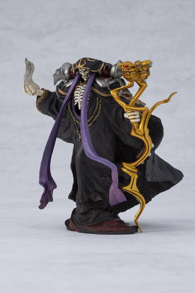 Overlord statuette pvc ainz ooal gown overseas 12 cm 3