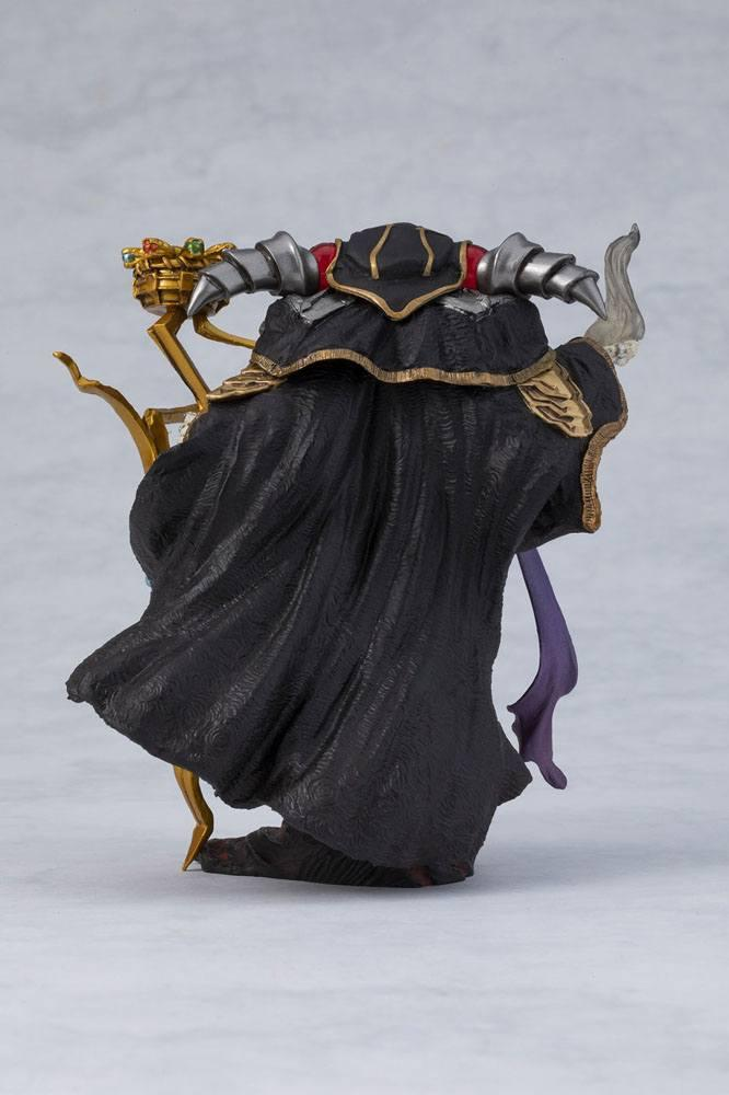 Overlord statuette pvc ainz ooal gown overseas 12 cm 4