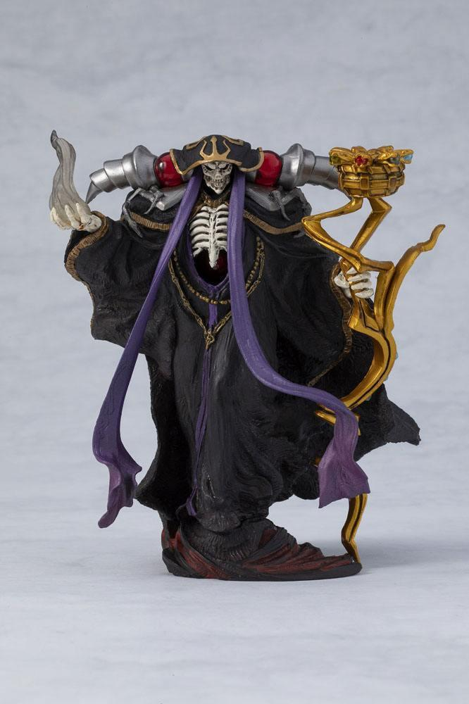 Overlord statuette pvc ainz ooal gown overseas 12 cm 7