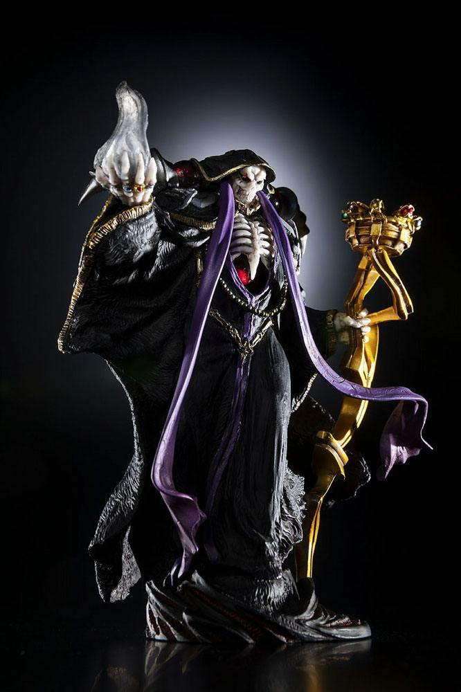 Overlord statuette pvc ainz ooal gown overseas 12 cm 8