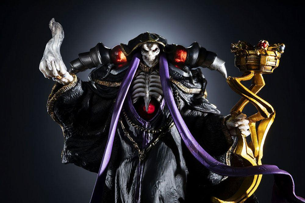 Overlord statuette pvc ainz ooal gown overseas 12 cm 9