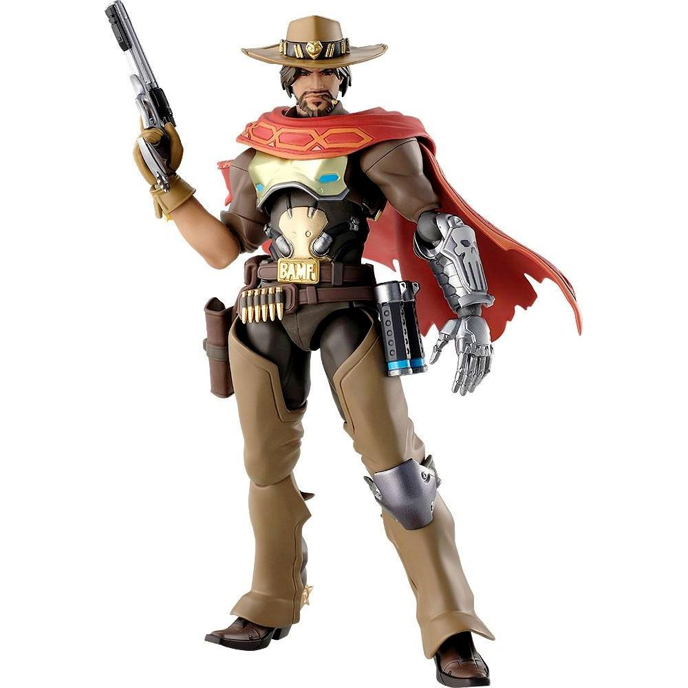 Overwatch figurine articulee figma mccree 16 cm good smilecompagny 1