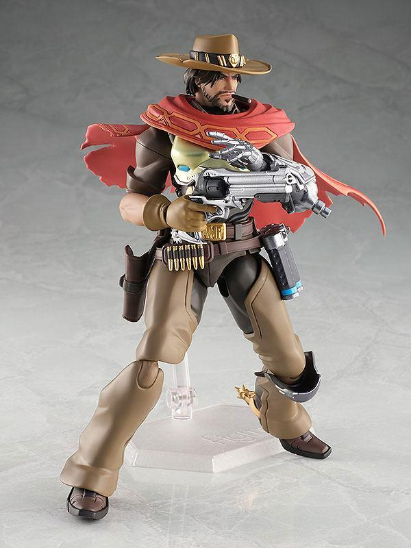Overwatch figurine articulee figma mccree 16 cm good smilecompagny 2