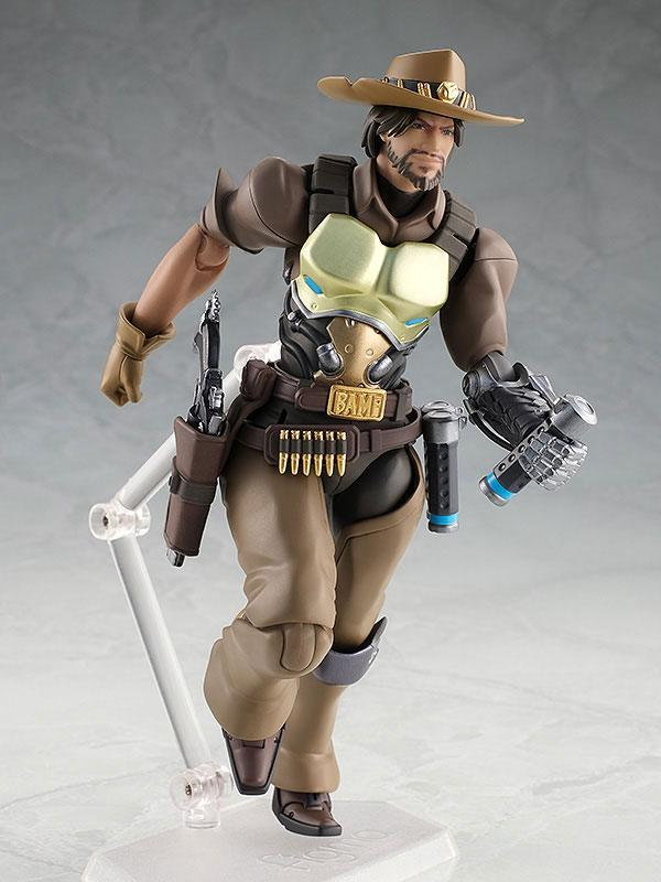 Overwatch figurine articulee figma mccree 16 cm good smilecompagny 4