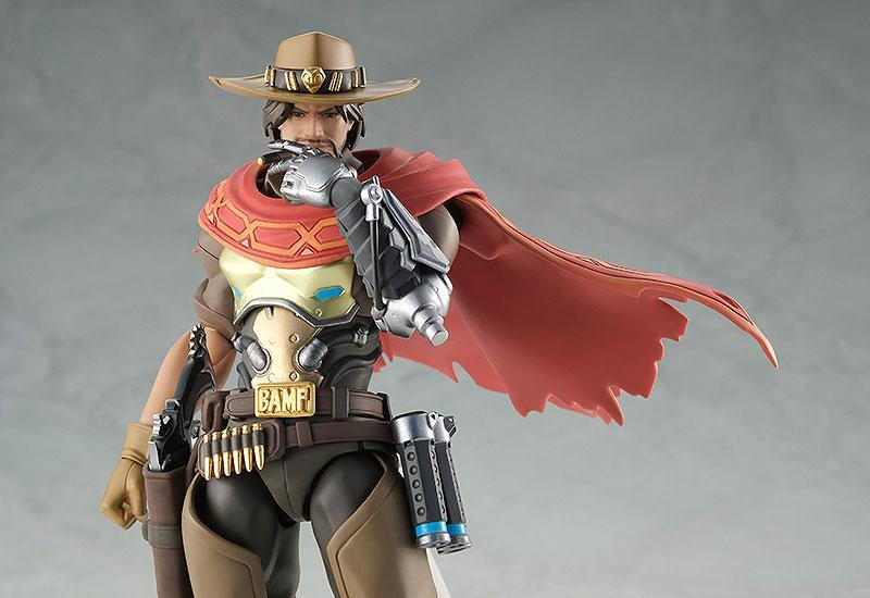 Overwatch figurine articulee figma mccree 16 cm good smilecompagny 5